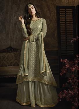 Designer Palazzo Salwar Suit