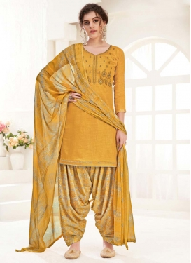 Designer Patiala Salwar Kameez For Casual