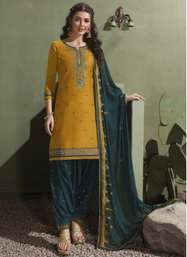 Designer Patiala Salwar Kameez For Ceremonial