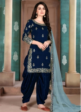 Designer Patiala Salwar Suit For Festival