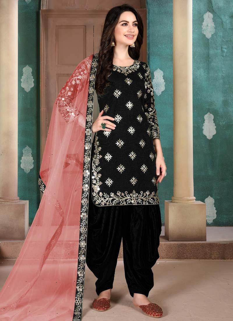 Designer Patiala Salwar Suit For Festival