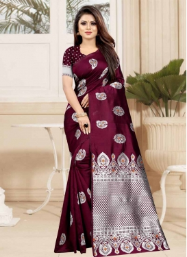 Designer Traditional Saree For Casual