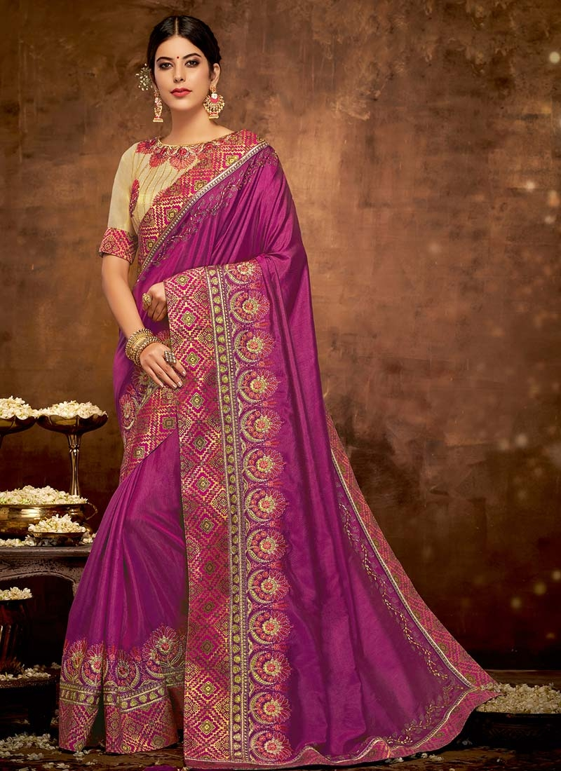 Designer Traditional Saree For Ceremonial