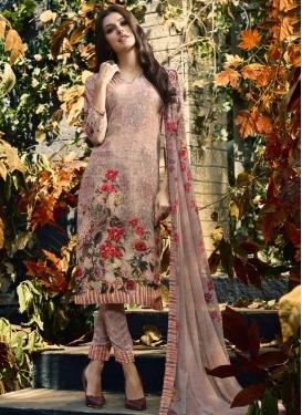 Digital Print Work Pant Style Classic Salwar Suit