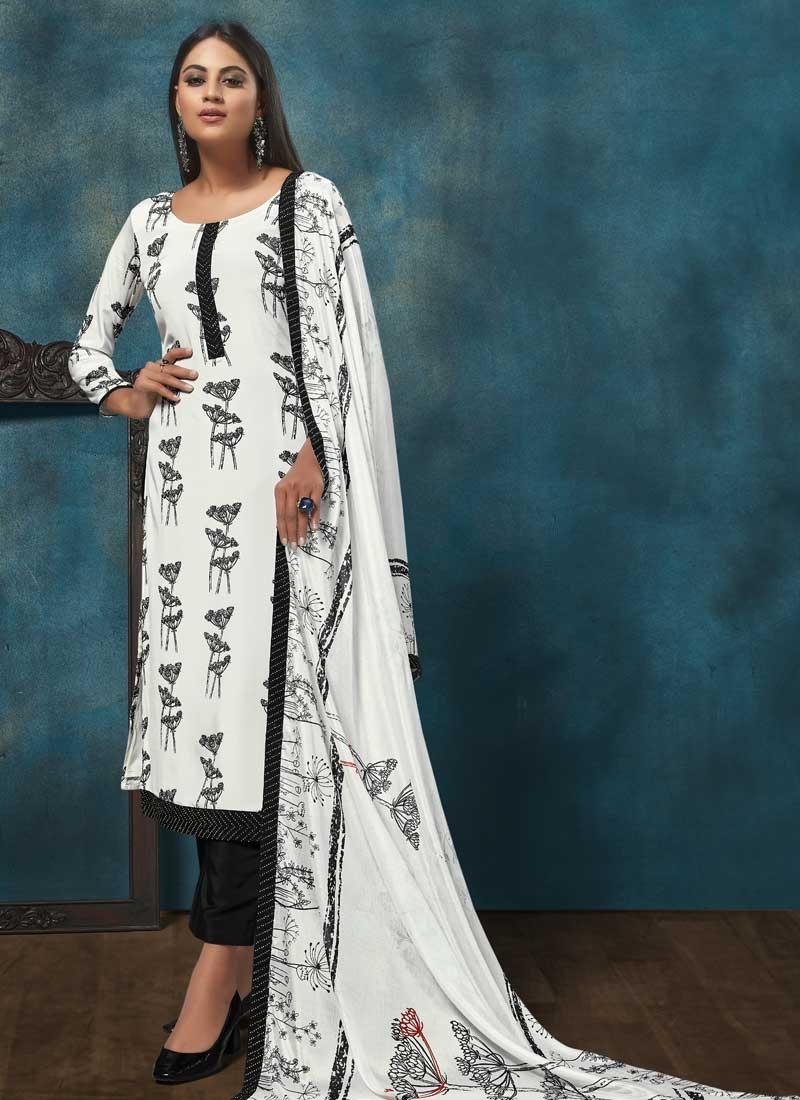 Digital Print Work Pant Style Pakistani Salwar Suit