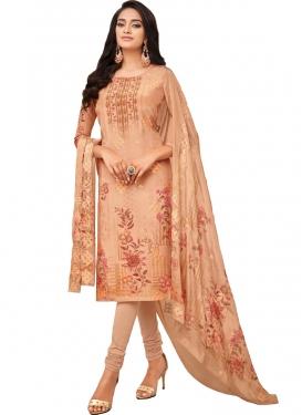 Digital Print Work Viscose Pakistani Straight Salwar Suit