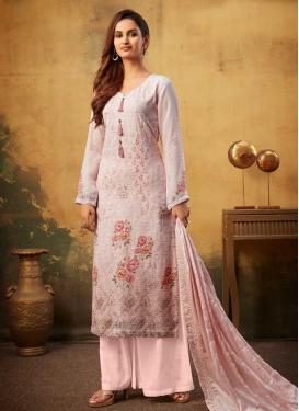 Digital Print Work Viscose Palazzo Style Pakistani Salwar Suit