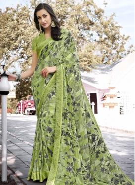 Digital Print Work Weight Less Designer Traditional Saree