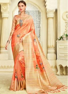 Dignified Art Silk Classic Saree