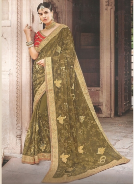 Dilettante Traditional Saree For Reception