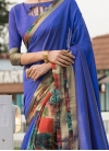Distinctive Print Party Traditional Saree - 1