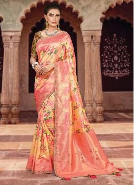 Distinguishable Weaving Art Silk Designer Traditional Saree