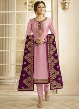 Drashti Dhami Long Length Trendy Pakistani Suit
