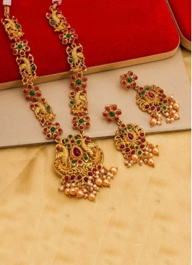 Elegant Beads Work Necklace Set