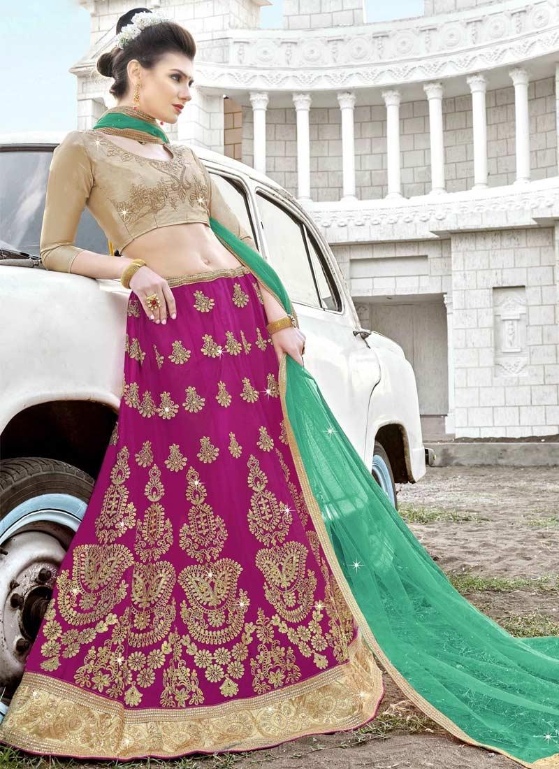 Embroidered Work Designer Classic Lehenga Choli