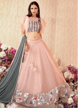Embroidered Work Designer Lehenga Choli