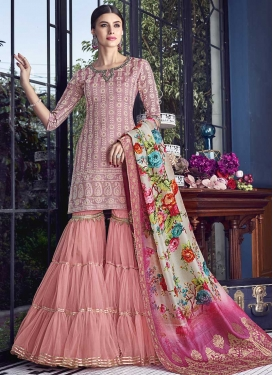 Embroidered Work Designer Salwar Kameez