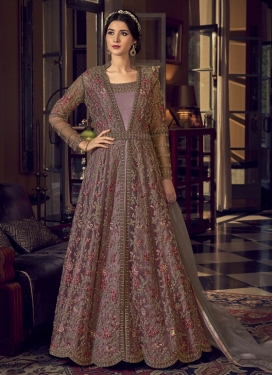 Embroidered Work Jacket Style Long Length Suit