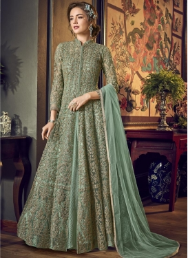 Embroidered Work Long Length Designer Suit