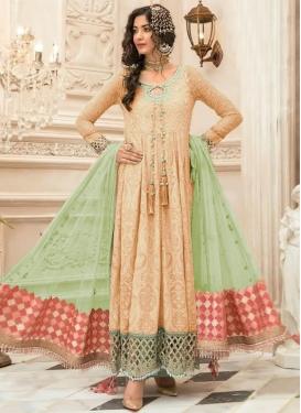 Embroidered Work Long Length Salwar Suit
