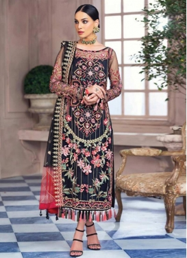 Embroidered Work Pant Style Pakistani Salwar Suit