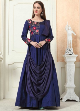 Embroidered Work Readymade Classic Gown