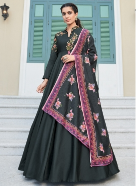 Embroidered Work Readymade Designer Salwar Suit