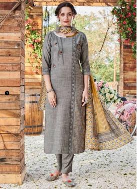 Embroidered Work Readymade Designer Salwar Suit