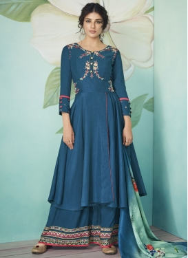 Embroidered Work Readymade Designer Suit