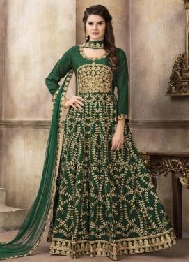 Embroidered Work Trendy Anarkali Salwar Kameez