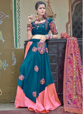 Embroidered Work Trendy Designer Lehenga Choli