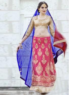Embroidered Work Trendy Designer Lehenga Choli