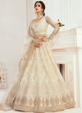 Embroidered Work Trendy Designer Lehenga Choli For Bridal