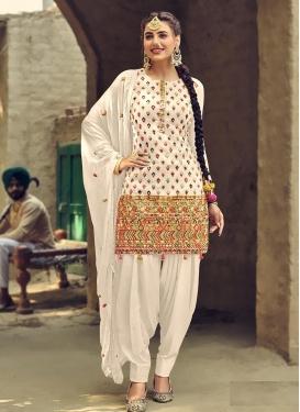 Embroidered Work Trendy Designer Salwar Kameez