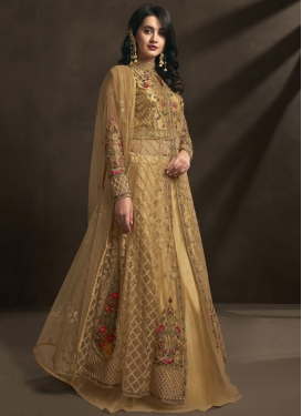 Embroidered Work Trendy Designer Salwar Kameez For Ceremonial
