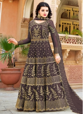 Embroidered Work Trendy Designer Salwar Kameez For Festival