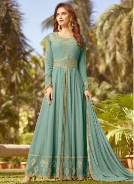 Embroidered Work Trendy Designer Salwar Suit