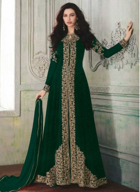 Embroidered Work Trendy Designer Suit