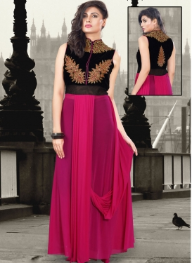 Enticing Booti Work Designer Readymade Gown