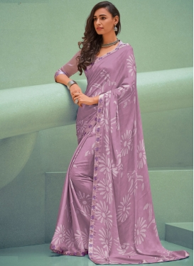 Exciting Printed Festival Trendy Saree