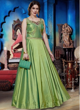 Exciting Readymade Trendy Gown  For Festival