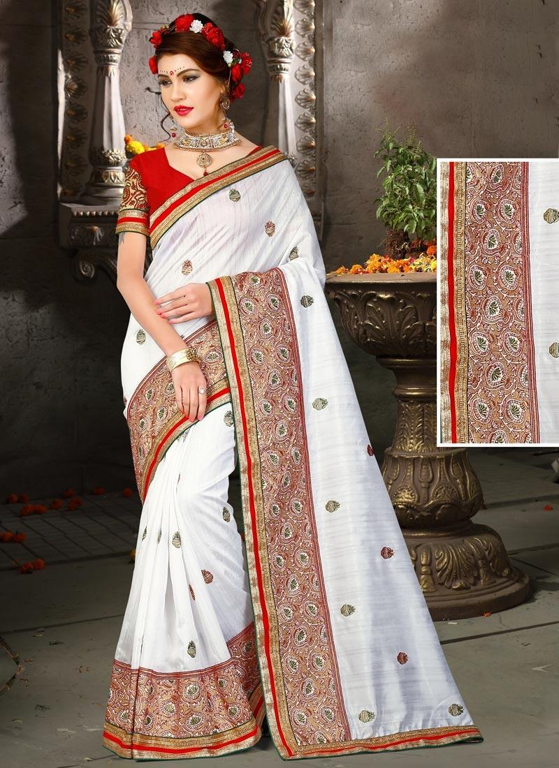 Exuberant Bhagalpuri Silk Classic Designer Saree