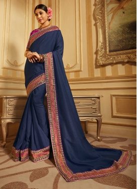 Exuberant Designer Traditional Saree For Festival