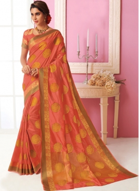 Exuberant Weaving Designer Traditional Saree