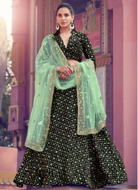 Fancy Fabric Designer A Line Lehenga Choli For Party