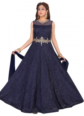 Fancy Fabric Readymade Anarkali Salwar Suit