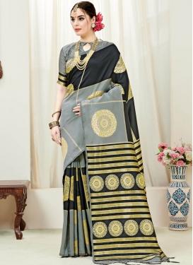 Fantastic Weaving Art Silk Designer Traditional Saree