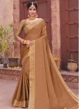 Faux Chiffon Designer Contemporary Saree