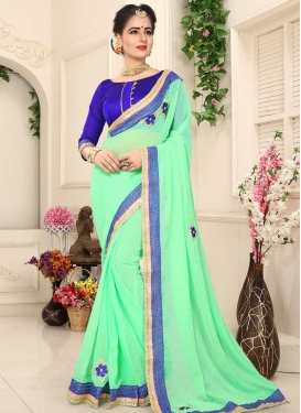 Faux Chiffon Traditional Designer Saree