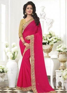 Faux Chiffon Traditional Saree